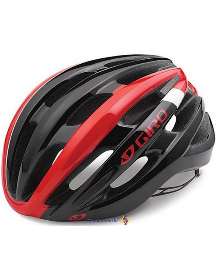 CASCO FORAY BRIGHT RED BLACK TAGLIA L GR109